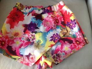 da 8 Skirt donna Pantaloncini Lfloral Eu36 Uk Sq4wg7x