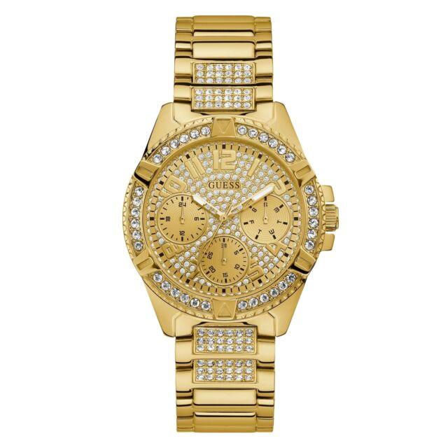 accd083e331d Guess Reloj de pulsera de W1156L2 las mujeres señora frontera