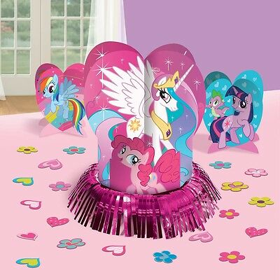My Little Pony Rainbow Birthday Party Table Centerpiece Decoration Kit