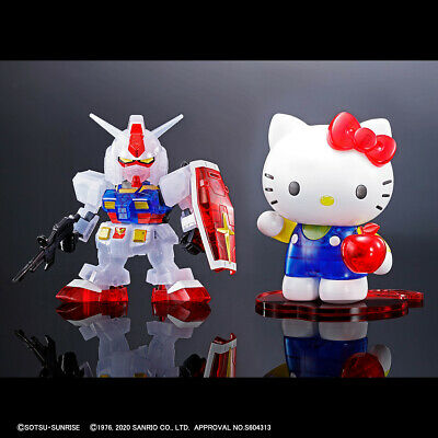 Imported Sanrio Hello Kitty // RX-78-2 GUNDAM SHIPPED FAST! SD EX-STANDARD