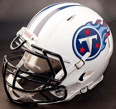 *CUSTOM* TENNESSEE TITANS NFL Riddell Full Size SPEED ...