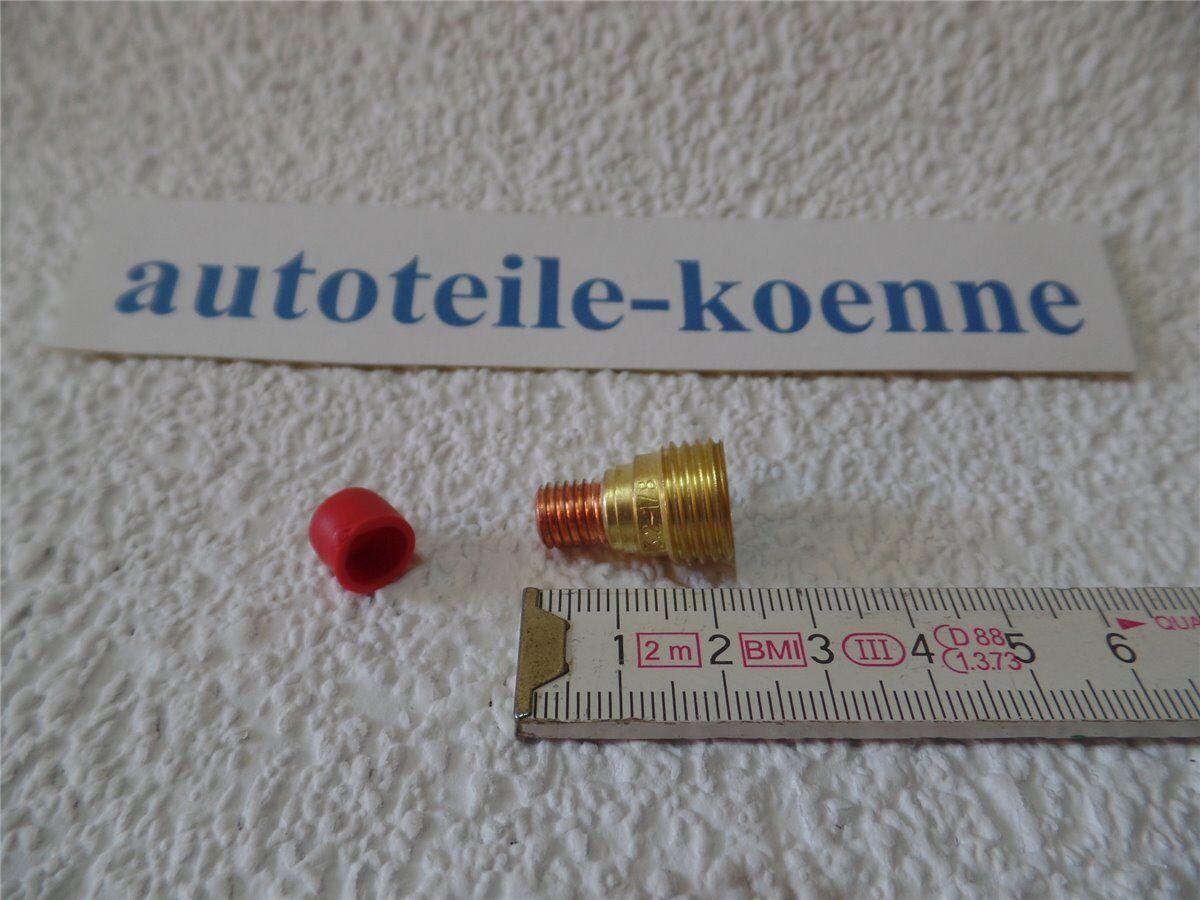 10x Gaslinse für Typ 9/20, Länge 21,5 mm, 45V45, Ø 3,2x21,5 mm WIG/TIG Schweißen