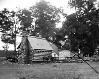8x10 Civil War Photo: Damaged House On The Battlefield Of Cedar Mountain