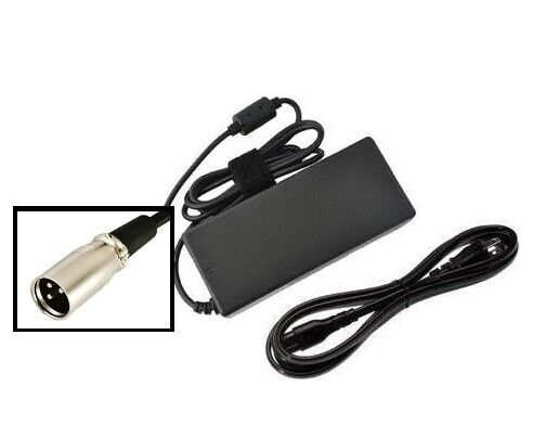96W eZip 4.0 400 400NS E-450 Electric Scooter power supply ac adapter cord cable