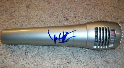 Dwight Yoakam Signed Autograph New Microphone W/exact Video Proof This Time Entertainment Memorabilia
