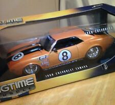 JADA Toys 1968 Chevy Camaro Z/28 Big Time Muscle #8 Race Car 1:18 Die Cast Model