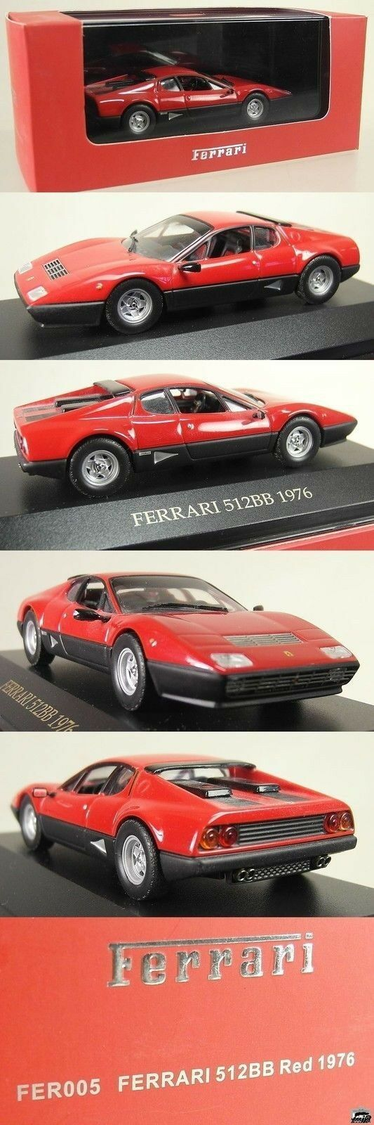 At341   IXO MODELS IXOMODELS 1 43 fer005-Ferrari 512 BB 1976  NOUVEAU