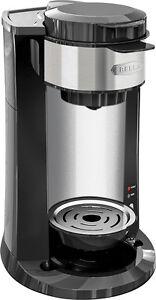 Bella-DualBrew-Single-Serve-Coffeemaker-Black-Silver