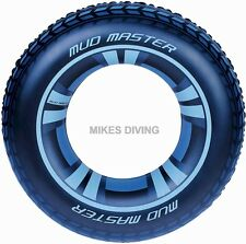"MUD MASTER 36"" RING lilo pool inflatable mudmaster rubber swimming"