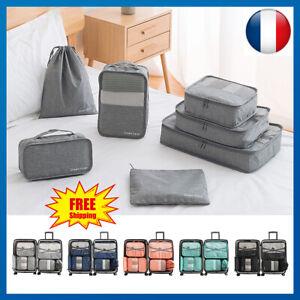 6x-Sac-de-Rangement-Poche-Maison-Organisateur-de-Bagage-Valise-Voyage-Vacances