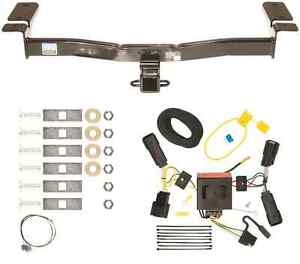 2011 2014 ford edge trailer hitch wiring harness combo kit class 3 rh ebay com