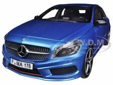 2012 MERCEDES A 250 SPORT BLUE 1/18 DIECAST CAR MODEL BY NOREV 183595