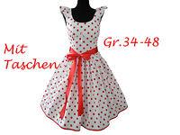 Kleid Schnittmuster +Bild Nähanleitung Gr.34-48  ,Petticoatkleid pdf Datei