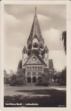 alte AK, Karl-Marx-Stadt - Lutherkirche, 1955 Chemnitz