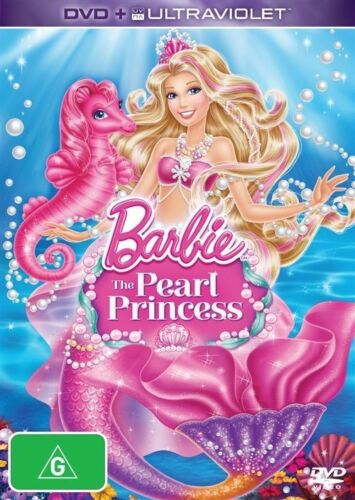 1 of 1 - Barbie - The Pearl Princess (DVD, 2014)