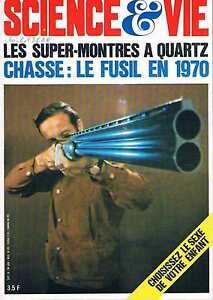 Copieux Science Et Vie N°636 Septembre 1970:fusil Choisir Le Sexe