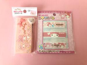 Sanrio My Melody Cosmético Estuche y Band Aid kawaii japan