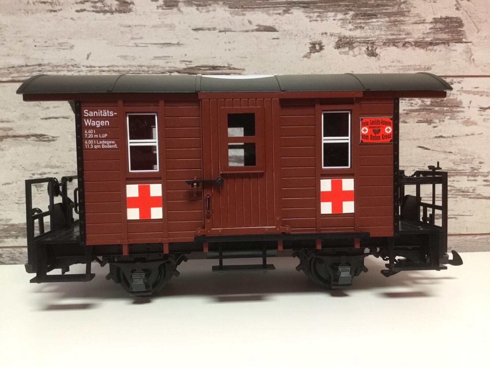 calidad de primera clase LGB 41390 médicos coche de caja-Caja Médica Médica Médica corto COCHE-ESCALA G  bienvenido a orden