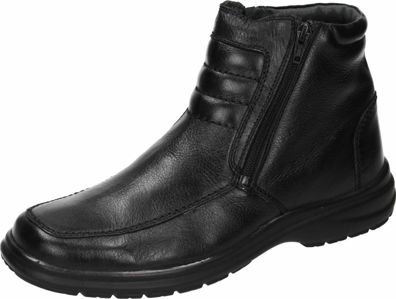 Comfortabel Stiefel Stiefel Leder Herrenschuhe schwarz 670455-1 41-46 Neu12
