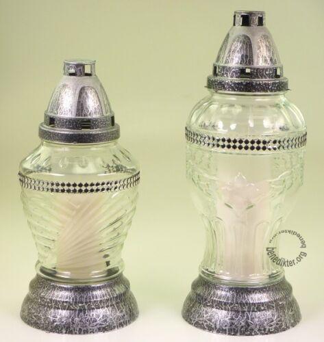 Sépulture modèle Harran grablichter sépulture Lampe pour tombe grabkerze sépulture