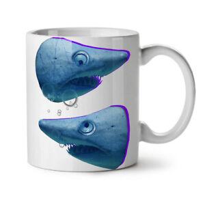 Wild Animal Shark Beast NEW White Tea Coffee Mug 11 oz   Wellcoda