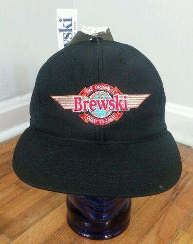 Rare NOS New Deadstock Vtg 90 80s Brewski Beer Hat