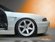 Nissan 200sx S14 Rocket Bunny Style +30mm Front Wings Fenders for Wide Body V6