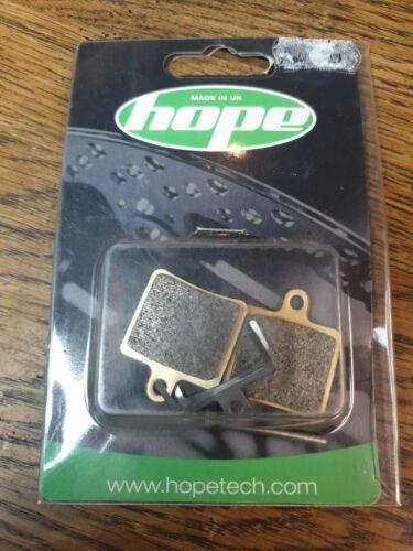 Hope Mini Disc Brake Pads Sintered et standard