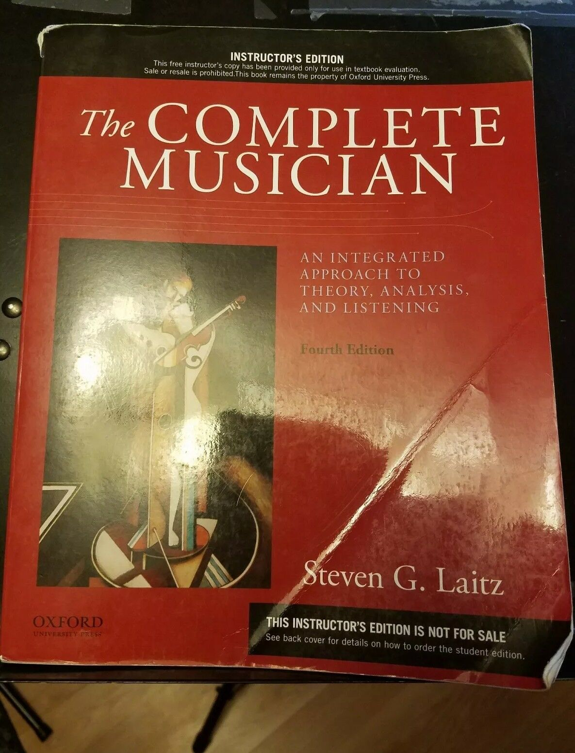 The Complete Musician : An Integrated Approach to Theory, Analysis and  Listening by Steven G. Laitz and Ian Sewell (2015, Paperback)   eBay