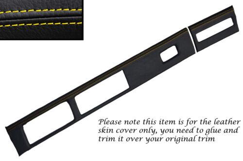 Jaune stitch Dash surround couverture de peau fits Vauxhall VX220 Opel Speedster 00-06