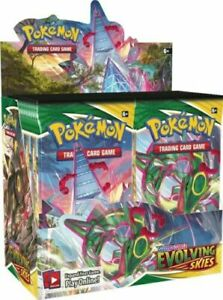 Pokemon Evolving Skies Booster Box 36 packs Pre-Order Factory Sealed Ships 8/27