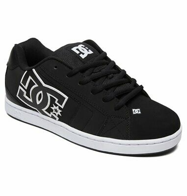 Scarpe Uomo Skate DC Shoes Net Nero Bianco Black White Schuhe Chaussures Zapatos   eBay