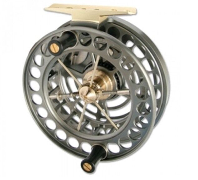 J W Young Super Light Weight Unique Cageless Centrepin Reel 4.5  X 0.75