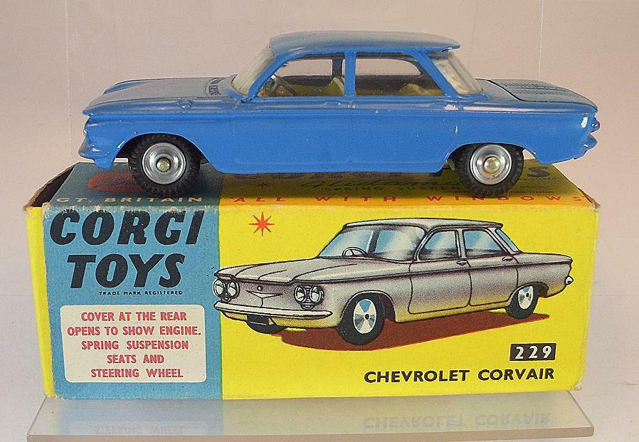 Juguete Kogi 229 Chevrolet, Colbert azul 35, 23, 373