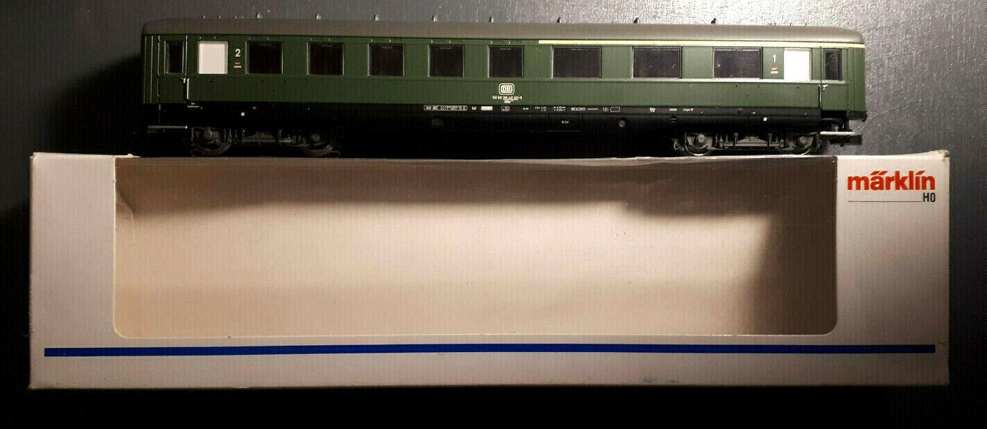 Märklin 43210, Schnellzugwagen, Schürzenwagen, DB, OVP, guter Zustand.  | Neuartiges Design