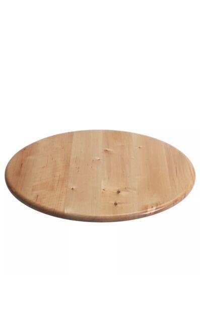 NEW IKEA:  39CM LARGE SNUDDA LAZY SUSAN SOLID BIRCH WOOD TURNING TABLE BASE