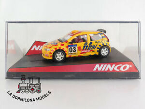 HonnêTe Ninco 50315 Fiat Punto Catalunya Costa Brava Official Rally Driver Limited Ed.