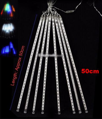Falling Raindrop//Snow Fall LED String Cascading Xmas Tree Christmas Icicle Light