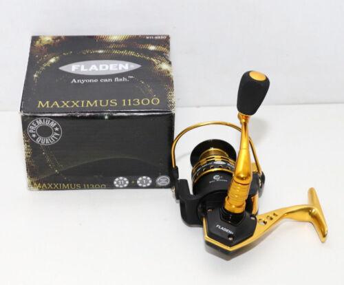 Rollen / Spulen Angelsport Fladen Maxximus 11 1BB Stationärrolle mit Instant anti-reverse 300m 0,20mm