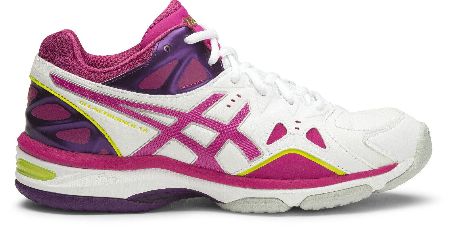 NEW  Asics Gel Netburner 18 femmes Netball Chaussures (D) (0121)