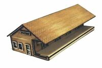 N Scale Train Station Kit