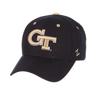 GEORGIA-TECH-YELLOW-JACKETS-NCAA-COMPETITOR-NAVY-SNAPBACK-ZEPHYR-CAP-HAT-NEW