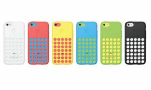 Détails sur Coque Téléphone Pour iPhone 5 C Genuine Official Apple Dot à Pois Housse en silicone peau- afficher le titre d'origine