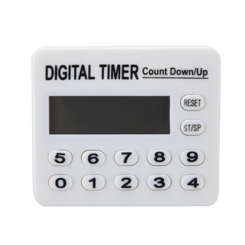 Home Kitchen Cooking Digital Count Down Up Timer AlArm W1Y3
