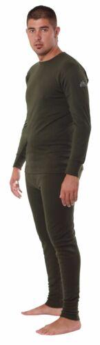 Forestman Uomo Leggeri Lunghi Termici Caldi Cotone Intimo Pantaloni con Freddo