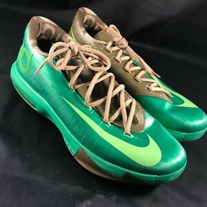 432fec5abb37 Nike KD 6 VI 599424 301 Bamboo Size 10.5 100% Authentic 599424-301 ...