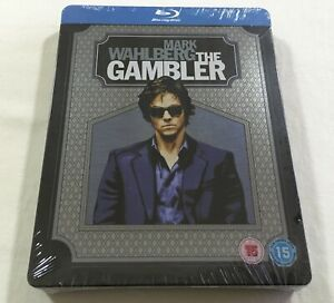 The-Gambler-2014-Limited-Steelbook-Blu-Ray-Region-B-New-Mark-Wahlberg
