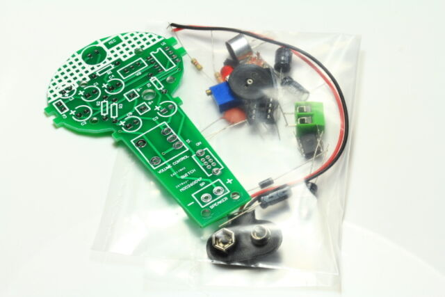 MICROPHONE WITH AMPLIFIER PCB DIY ELECTRONIC KIT