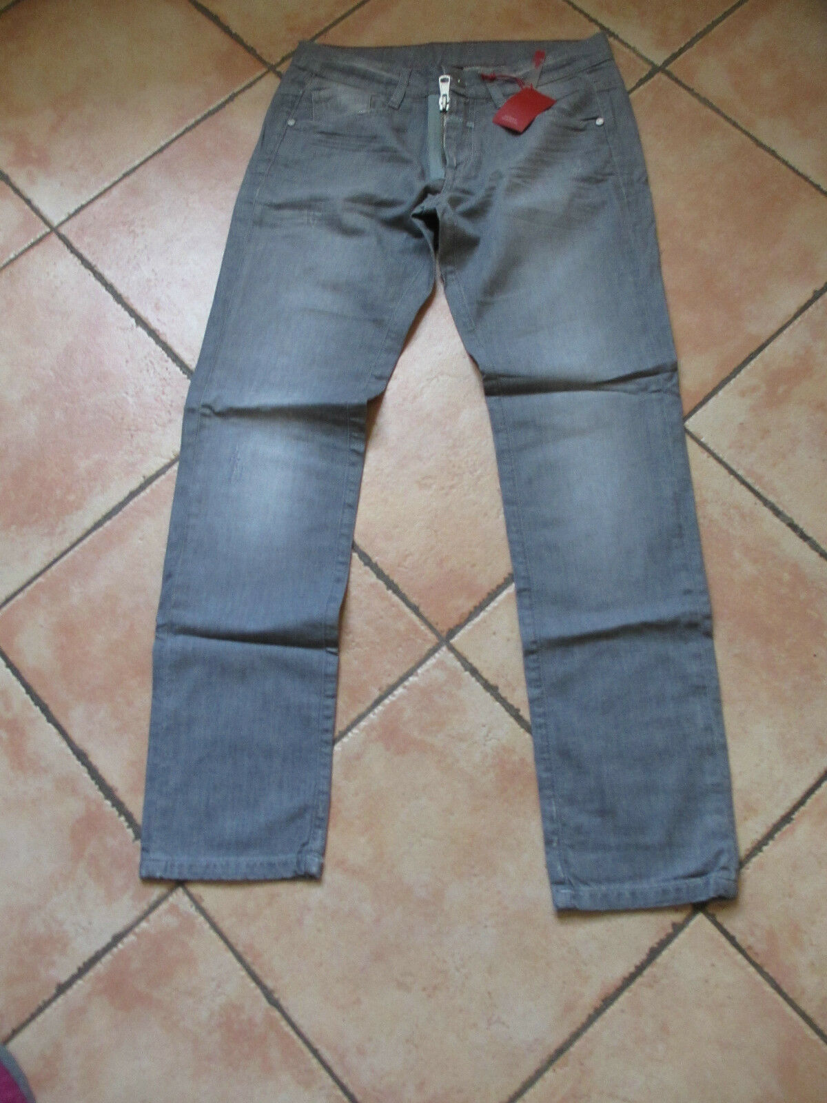 NEUF NEUF NEUF ce jean grigio M§F GIRBAUD,Dimensione 38 F 2e1653
