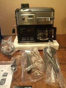 NEARLY-NEW-Delonghi-BC0330T-Combination-Drip-Coffee-and-Espresso-Machine